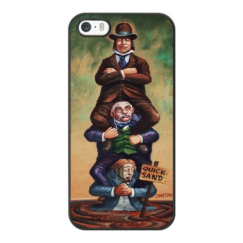 Coque,Coque iphone 5 5S SE Case Coque, Haunted Mansion Stretching Room Cover For Coque iphone 5 5S SE Cell Phone Case Cover Noir