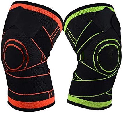 膝パッド バスケットボール膝パッドスポーツパンツソックスケアふくらはぎプロテクター夏フィットネス乗馬機器ランニング。 (色 : 緑, サイズ : XL)
