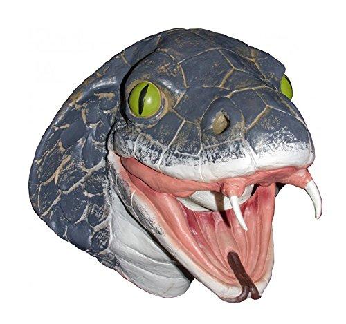 Latex Full Head Snake King