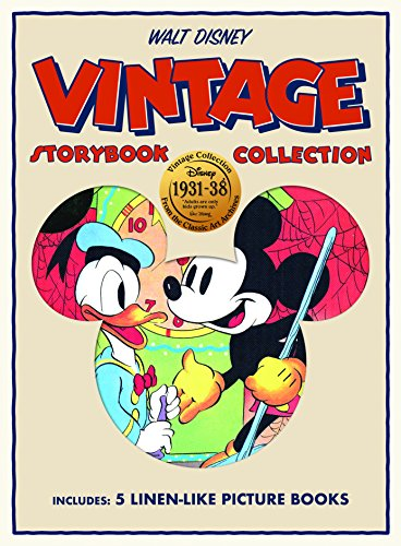 Mickey Mouse Bendon 44151 Disney Vintage Linen Storybook Collection