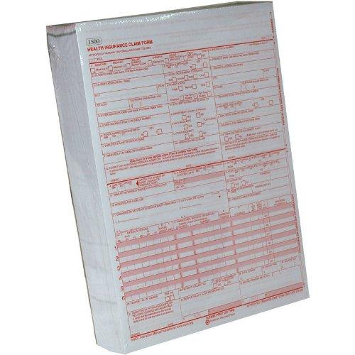 CMS-1500 Version 08/05 - 1,000 Sheets. Medical Billing Claim Forms. HCFA 0805 Version by Jaxplaza