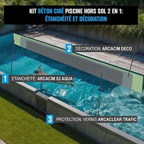 Arcane Industries - Revestimiento para piscina sobre el suelo ...