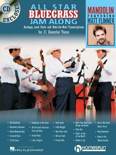 ALL STAR BLUEGRASS JAM-ALONG FOR MANDOLIN BK/CD