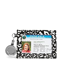 Vera Bradley Retractable Lanyard ID Card Case in Camofloral