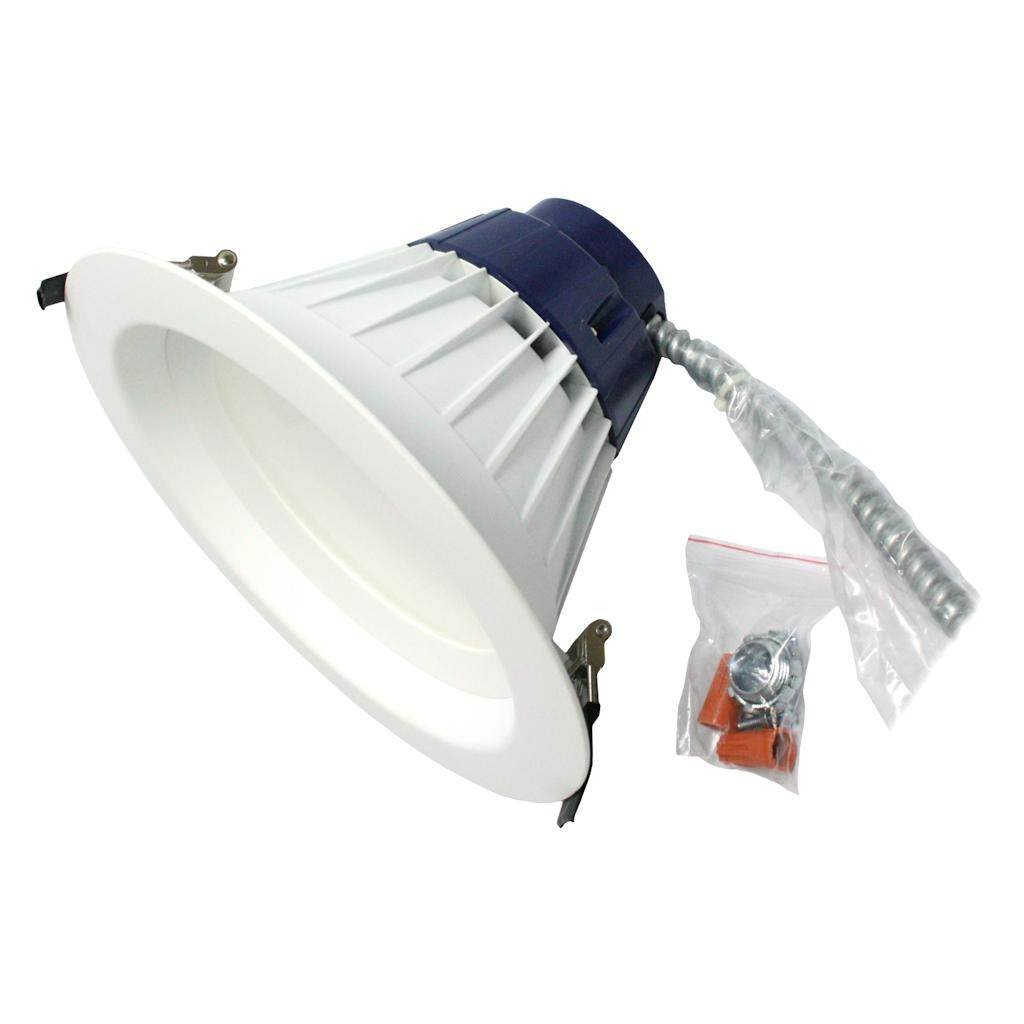 SYLVANIA 72530 Ultra LED RT5/6 HO Recessed Downlight Kit, 17W, Plastic Bulbs, 4000K Cool White, Dimmable Down to 10%, 50,000 Hours, Pack of 1