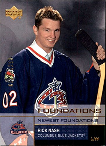 2002-03 UD Foundations Columbus Blue Jackets Team Set 3 Cards (3 SP) Rick Nash RC