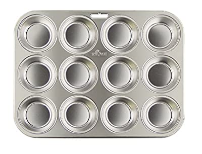 Fox Run Stainless Steel Muffin Pan