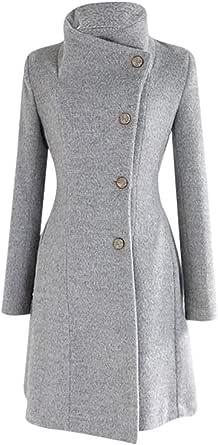 Logobeing Chaqueta Abrigo Mujer Invierno Talla Grande Suéter Abrigo Largo para Mujer Otoño Bolsillo Blusas Manga Larga Estampado Leopardo Moda