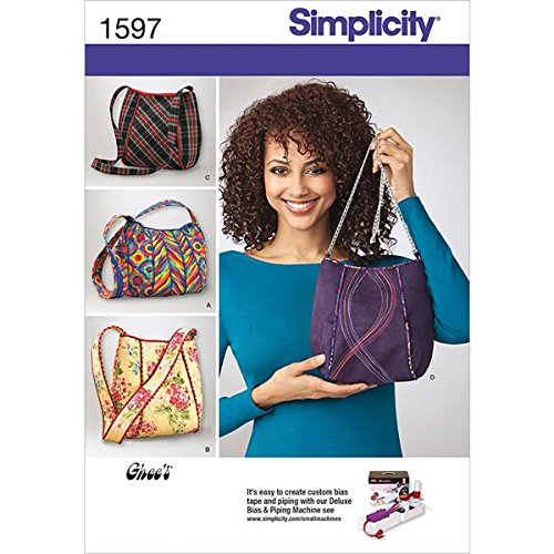 Simplicity Purse Patterns (Simplicity Pattern 1597 Ladies Purses 4 Styles Designed by Ghee's)