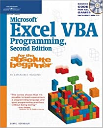Microsoft Excel VBA Programming for the Absolute Beginner, Second Edition (For the Absolute Beginner)