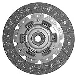 AGmonkey 1273242 7 1/4 Single Stage Woven Clutch Disc for Case-IH 234 5015 5215 1010