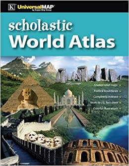 Scholastic world atlas by universal map group 2012 01 27 amazon scholastic world atlas by universal map group 2012 01 27 amazon universal map group libros gumiabroncs Image collections
