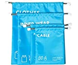Drawstring Bag Water Proof & Weather Resistant (sky blue)