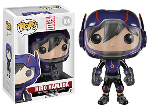 Funko POP! Disney: Big Hero 6-Hiro Hamada Action Figure (Disney Movie Big Hero 6)