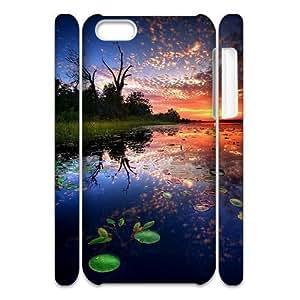ALICASE Design Diy hard Case Sunset For Apple Iphone 5/5S Case Cover [Pattern-1]