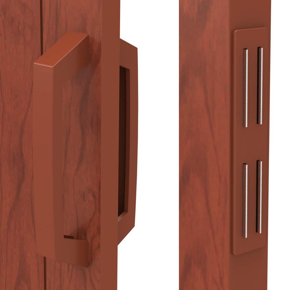 Roble oscuro 84//8//202 cm aprox Jago Puerta plegable de PVC