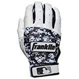 Kyпить Franklin Sports Adult MLB Digitek Batting Gloves, Adult Large, Pair, Grey/White/Black Digi на Amazon.com