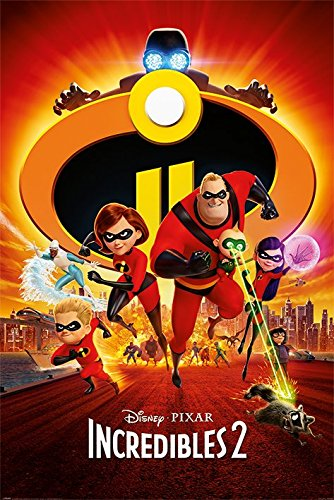 The Incredibles 2 - Disney/Pixar Movie Poster/Print