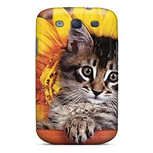 Galaxy S3 Case Cover With Shock Absorbent Protective UyH-4560-EbE Case