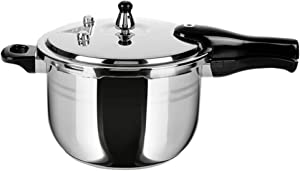 Stainless Steel Pressure Cooker Cookware rice cooker about 2-5 person 5.2 quert explosion-proof Thickened Safety home use durable
