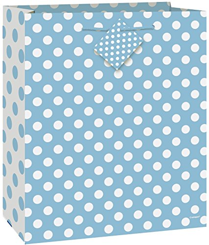 Light Blue Polka Dot Gift