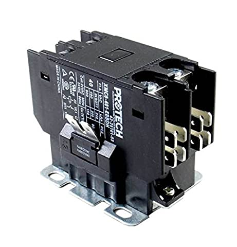 Rheem Furnace Parts PROTECH Contactor - 40A 1-Pole (24V coil) (Rheem Contactor)
