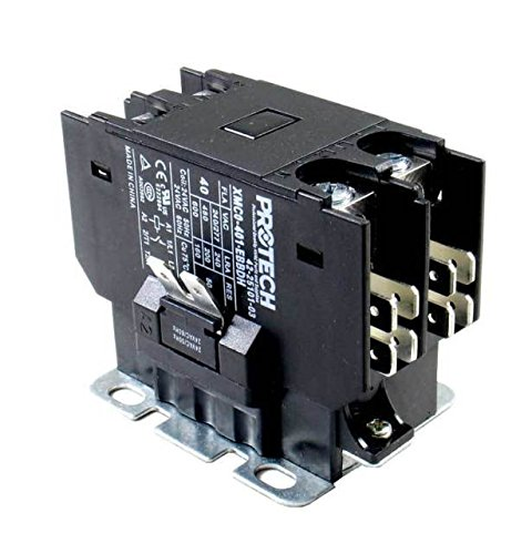 Rheem Furnace Parts PROTECH Contactor - 40A 1-Pole (24V c...