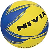 Nivia Twirl Volleyball, Size 4 (Yellow/Blue)