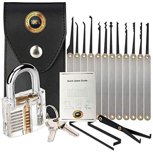 Lock Model with Professional 15P Set (C)