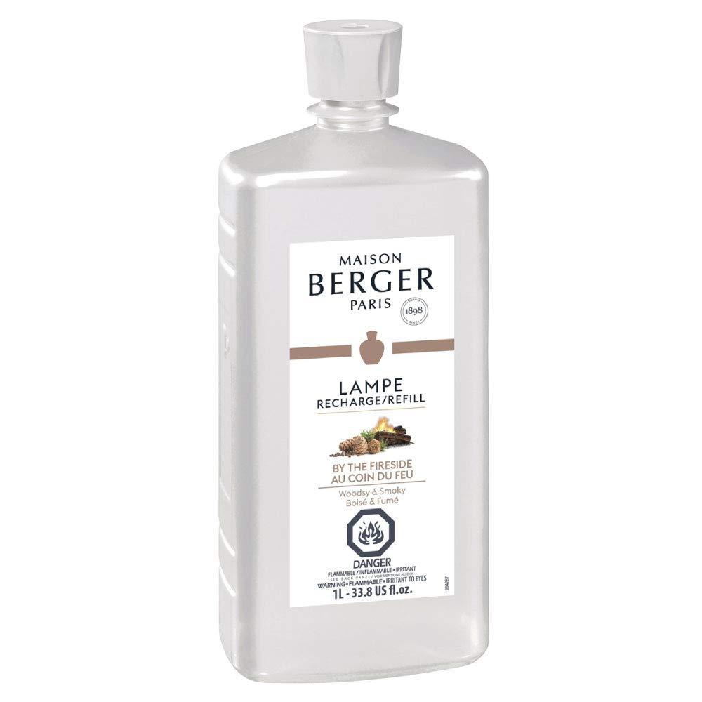 by The Fireside - Lampe Berger Fragrance Refill for Home Fragrance Oil Diffuser - 33.8 Fluid Ounces - 1 Liter
