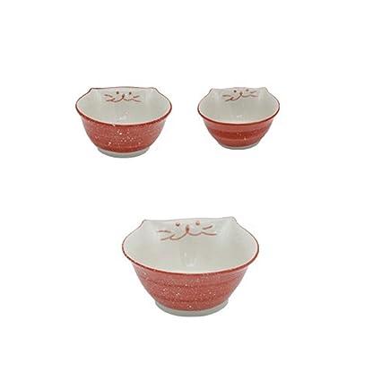 Piatti In Ceramica Per Bambini.Xcxdx Set Di Piatti In Ceramica Per Gatti Carino Stoviglie