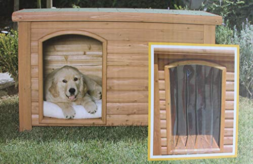 Outback Dog House Door in Clear Size: Medium/Large (25