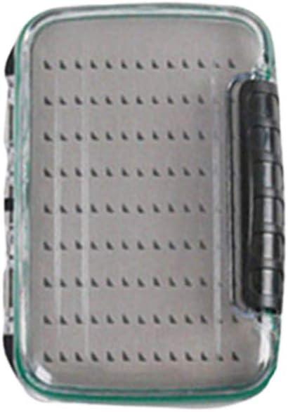 Versiegelt Fliegenbox Angelzubehör Aufbewahrungsbox Kiste Wasserdicht Angelbox,
