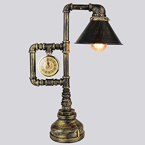 De Rétro Avec Montre Une Pipe Idéale Loft Lecture Industriel Lampe TJcl13uFK