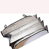 Auto Folding Silvering Reflective Car Windshield Front Window Sun Shade Visor Shield Cover Silver
