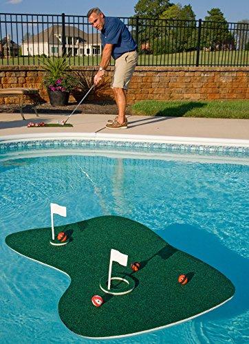 Putt-A-Bout Aqua Golf Floating Putting Mat, ()