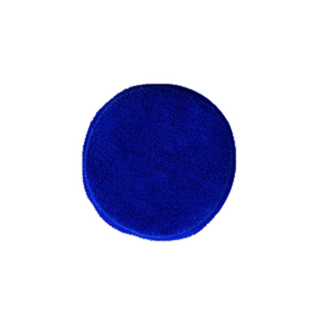 ✨Likero✨ Car Waxing Polish Microfiber Foam Sponge Applicator Cleaning Detailing Pads (Blue)