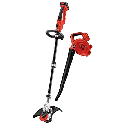 BLACK+DECKER LCC420 20V Lithium Ion String Trimmer and Sweeper Combo Kit