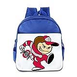 Custom Cute Ohio State University Mascot Columbus Teenager Shoulders Bag For 1-6 Years Old RoyalBlue