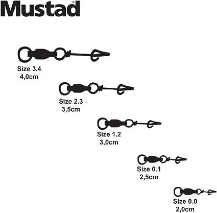 Mustad Ultrapoint Stay-Lok SLSBB Kugellagerwirbel