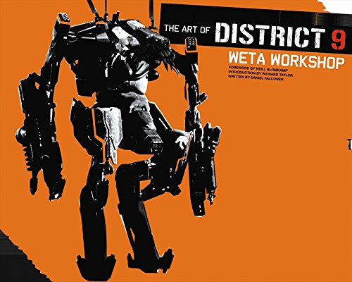 graphic regarding Weta Uk Printable Schedule known as The Artwork of District 9: .united kingdom: 9781869509026: Textbooks