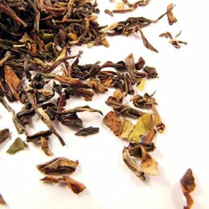 Decaf Ceylon Orange Pekoe BOP Loose Leaf Black Tea Aromatic Amber Liquor - 1 Pound