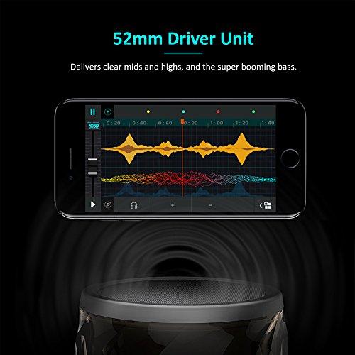 Jewel Portable Wireless Bluetooth Speaker LED Night Light 6 Light Modes SHAVA