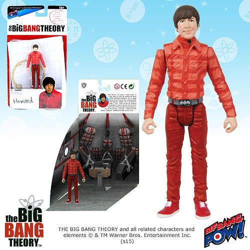 Figure Toys Capsule Action (The Big Bang Theory 3.75 Inch Action Figure Series 1 - Howard)