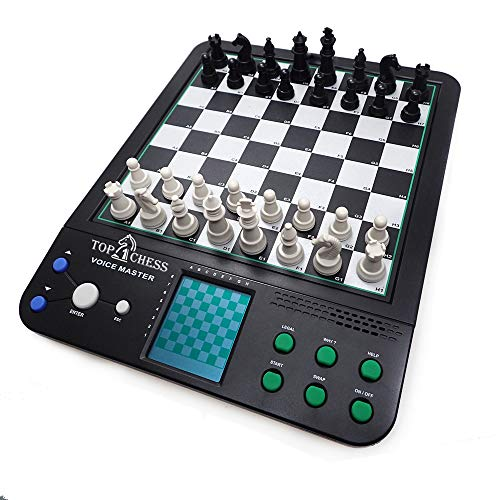 [해외]Top 1 Chess Set Board Game Voice Chess Academy Classical Game 8 In1 Computer Voice Teaching System Teaching Chess Strategy for Chess Lovers / Top 1 Chess Set Board Game, Voice Chess Academy Classical Game, 8 In1 Computer Voice Teac...