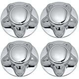Center Caps for Select Ford Lincoln Trucks Van SUV Chrome (Set of 4) 16 and 17 inch Wheel Cover