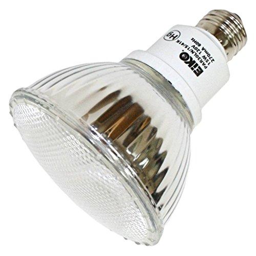 - Eiko 06280 - PAR30LN/15/41K - 15 Watt Indoor/Outdoor Compact Fluorescent Long Neck PAR30 Light Bulb, 4100K