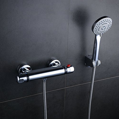 Thermostatic Shower Mixer Set - 8