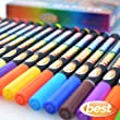Best Non-Toxic Fabric Markers (Pack of 24 Pens)