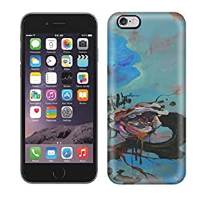 Running Gary Beautiful Human Eyess Peek Out Of Rose Flowers In This Abstract Painting By Shann Larsson X Hard Phone Case For Iphone 6 Plus